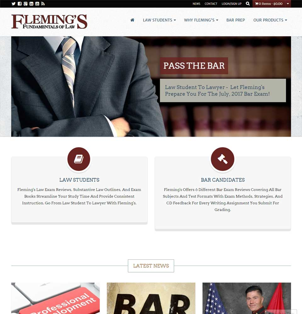 Flemings Fundamentals of Law
