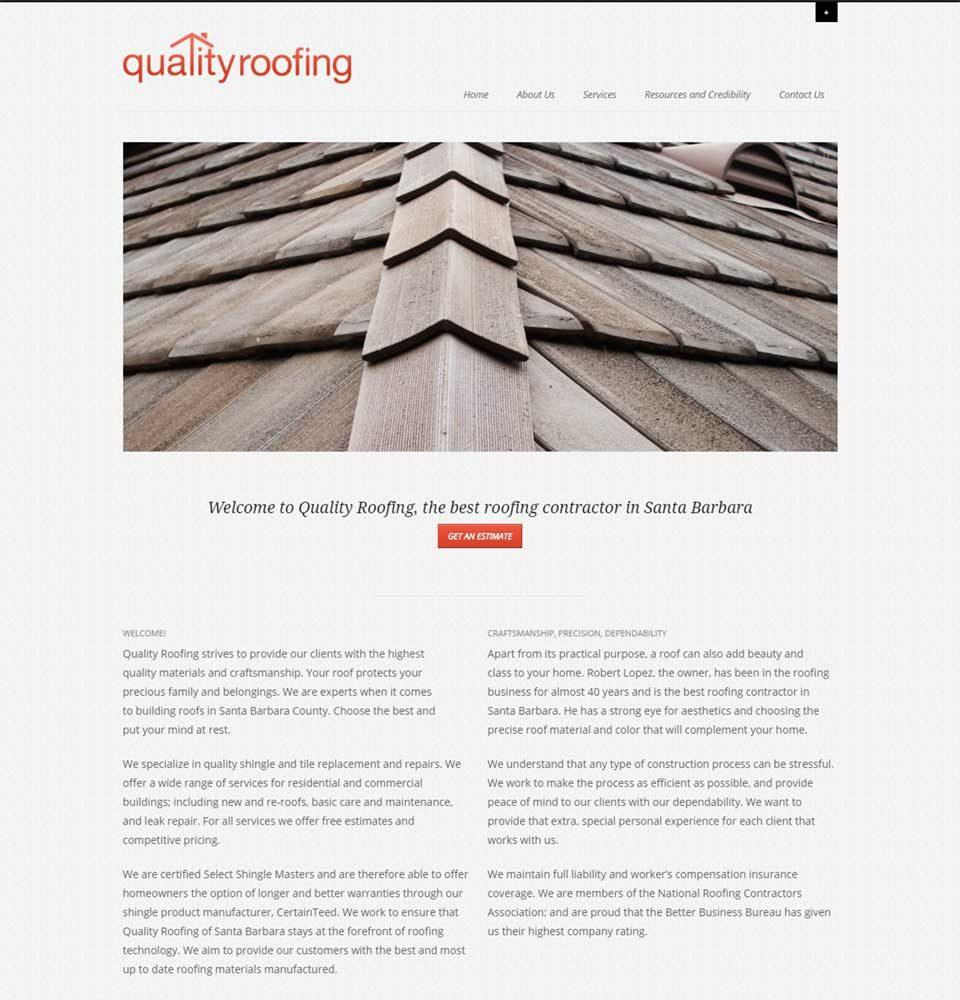 Quality Roofing Santa Barbara