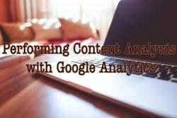 Perform Content Marketing Analysis By Using Google Analytics