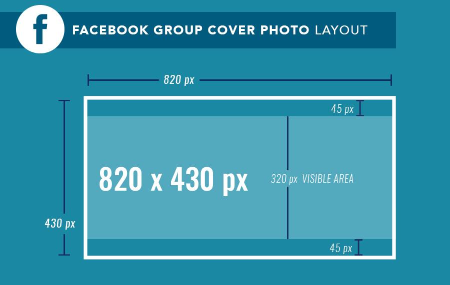 New Dimensions For Facebook Group Cover Images - Branded