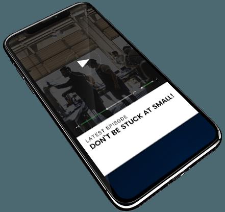 Branded innovation Podcast Mobile